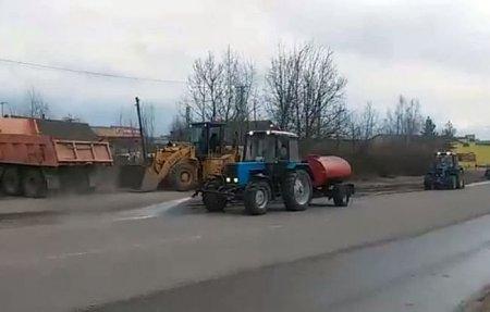 Администрация Вязьмы ударила по критике уборки дорог рекламным роликом