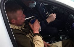 Жителя поселка Кайдаково поймали пьяным за рулем
