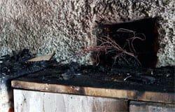 В садовом товариществе «Вяземское» горел дачный дом
