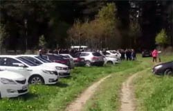 В Вязьме прошла акция памяти по погибшему таксисту