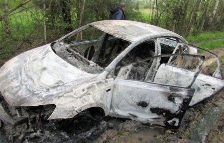 В Вязьме заживо сожгли таксиста