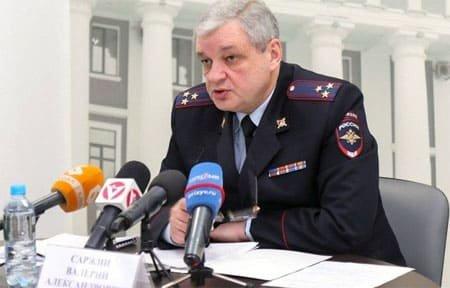 В Смоленской области назначен новый глава УМВД В. А. Саржин
