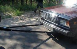 В Вязьме украли неисправную ВАЗ 210070
