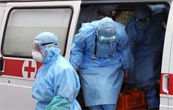 Вспышка коронавируса в отделении скорой помощи в Вязьме