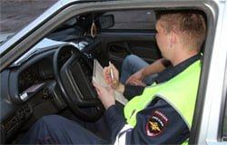 На Ямской сотрудники ГИБДД задержали пьяного водителя