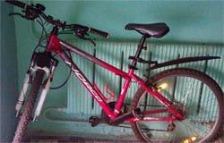 Вяземская полиция раскрыла кражу велосипеда
