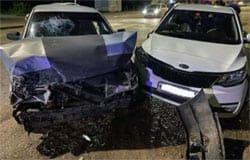 Kia Rio и ВАЗ столкнулись на ул. 25 Октября, есть пострадавшие