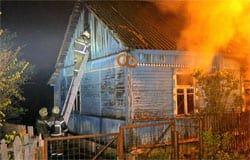 На Максима Горького из горящего дома спасли 82-летнюю женщину