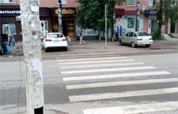 На ул. Красноармейское шоссе скутеристка сбила пешехода