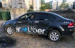 В ДТП на ул. Кашена пострадало такси