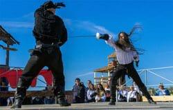 В рамках «Ночи кино» в усадьбе «Хмелита» выступят фехтовальщики