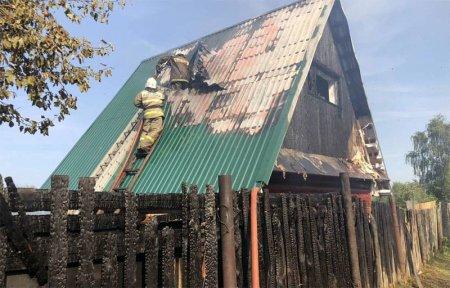 В садоводческом товариществе «Урожай» сгорел дачный дом