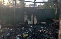 В СНТ «Строитель» снова был пожар