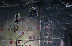 В Вязьме на ул. Ленина горела квартира