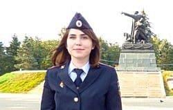 Валерия Нищакова претендует на звание народного участкового