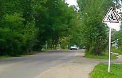 На улице Кашена иномарка сбила девушку на зебре