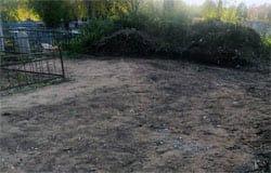 На Бозненском кладбище в Вязьме убрали мусор