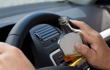 На Вязьма-Брянской задержан пьяный водитель