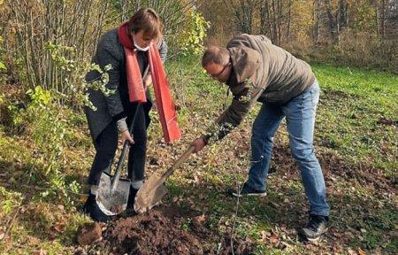 Усадьба Богородицкое приняла участие в акции «Зелёная линия фронта»