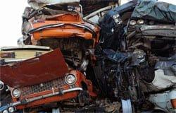 В Вязьме украли и сдали на металлолом машину