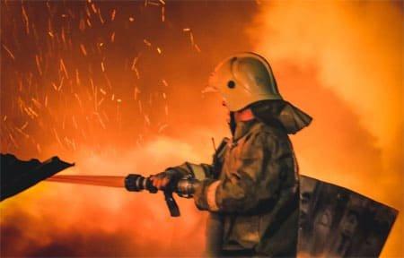 В СНТ «Строитель» снова сгорела дача