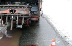 На Кирова мусоровоз сбил пешехода