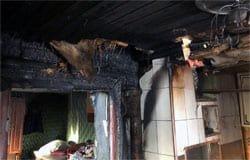 11 декабря в Новых Ржавцах горел дом