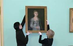 Картина «Неизвестная девочка в сером платье» вернулась в Хмелиту
