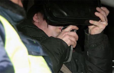 В Исаково задержали пьяного москвича
