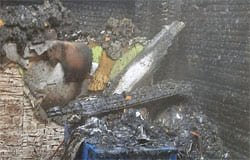 Котел стал причиной пожара в доме по ул. 25 Октября