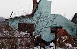 В деревне Сакулино сгорел дом, есть жертвы