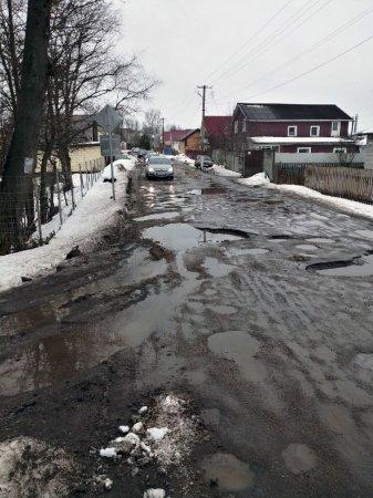 Объездная дорога Фроловского моста не выдерживает нагрузки