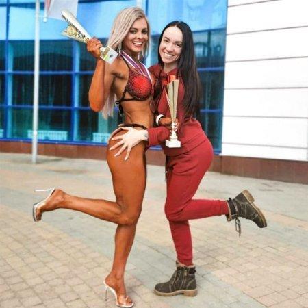 Вязьмичка Элла Повесма в тройке лидеров по фитнес бикини
