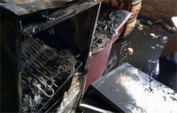 В Вязьме 9-летний мальчик спас отца при пожаре