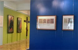 Выставка Искусство Православной церкви в Хмелите