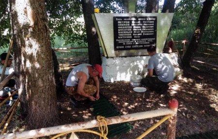 В деревне Киево благоустроили воинское захоронение