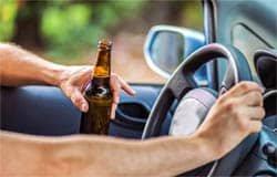 На ул. 25 Октября задержали пьяного водителя