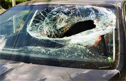 Эмоциональная вязьмичка разбила машину местной автоледи