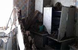 В квартире на ул. Ленина рухнул потолок