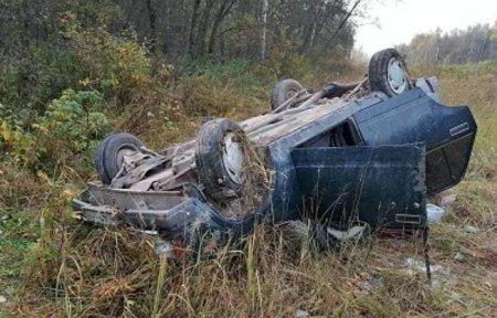 Водитель Форда бросил в кювете пассажиров и сбежал с места ДТП