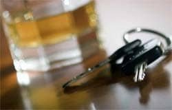 В деревне Черное задержан пьяный водитель